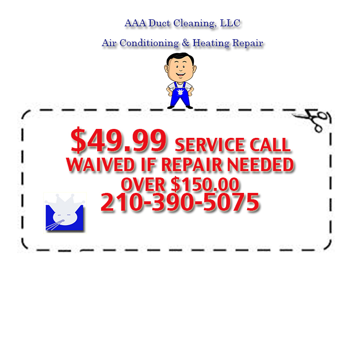 49.99Service call on all AC repair and heating repairs in San Antonio. Collis 24/7 for all your emergency air-conditioning repairs San Antonio.
